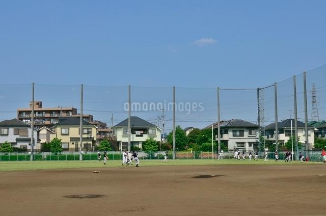 練馬区立北大泉野球場の写真素材 [FYI01580538]