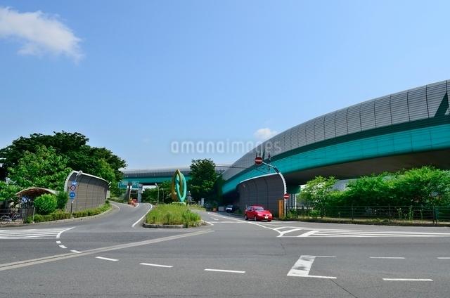 関越自動車道外環自動車道大泉インターの写真素材 [FYI01580664]