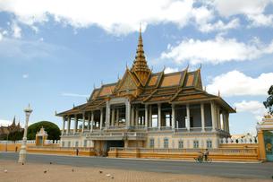 カンボジア王宮の写真素材 [FYI01581026]