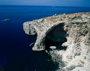 青の洞窟の写真素材 [FYI01581938]
