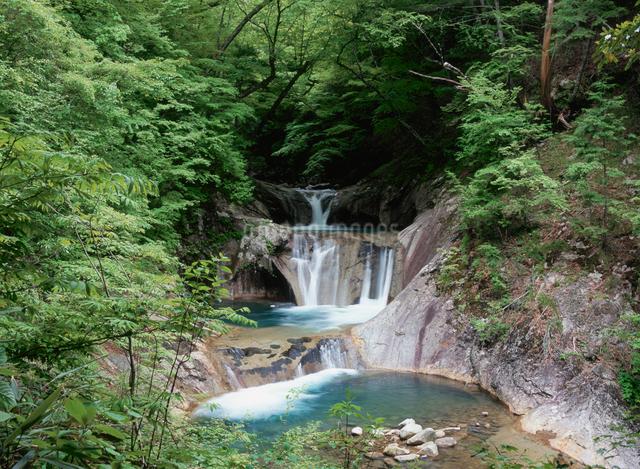 七ッ釜五段滝の写真素材 [FYI01582063]