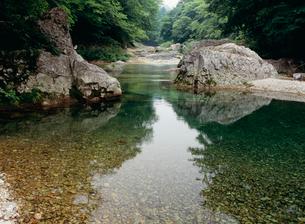 男鹿川の流れの写真素材 [FYI01582575]