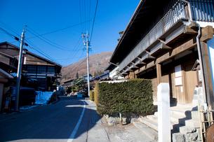 和田宿の街並みの写真素材 [FYI01583197]