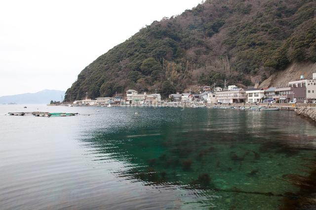 常神の漁村の写真素材 [FYI01583307]