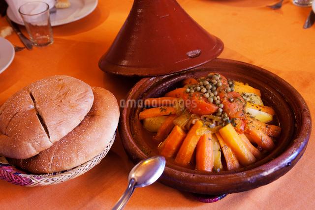 タジン料理 モロッコ料理の写真素材 [FYI01583361]