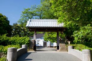 金沢城 切手門の写真素材 [FYI01583365]