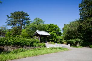 金沢城 切手門の写真素材 [FYI01583503]