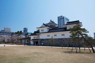 富山城の写真素材 [FYI01584055]