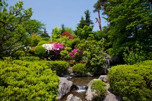 西山公園 嚮陽庭園の写真素材 [FYI01584100]