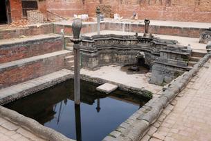 王宮内の王の沐浴場の写真素材 [FYI01584652]