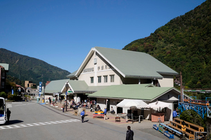 黒部峡谷鉄道宇奈月駅の写真素材 [FYI01584791]