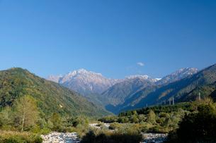 剣岳と早月川の写真素材 [FYI01584981]