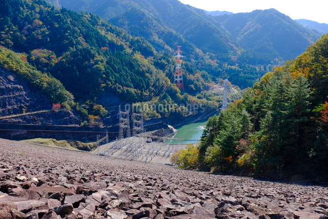 岩屋ダムの写真素材 [FYI01585100]