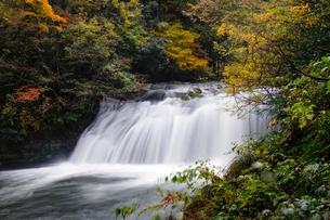 竹田川渓谷鱒返りの滝の写真素材 [FYI01585264]