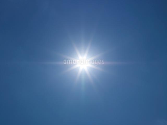 空と太陽の写真素材 [FYI01585300]