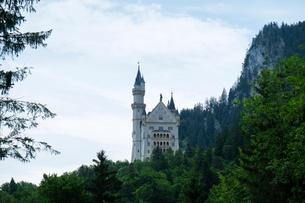 ノイシュヴァンシュタイン城の写真素材 [FYI01585389]