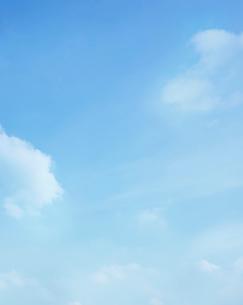 青空と雲の写真素材 [FYI01585407]