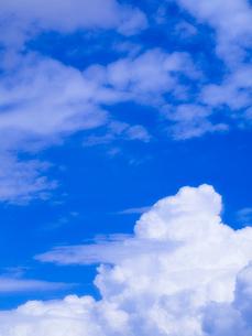 青空と入道雲の写真素材 [FYI01585463]