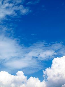 入道雲と青空の写真素材 [FYI01585503]