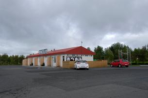 アイスランドのモーテルの写真素材 [FYI01585522]