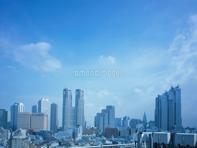 新宿副都心の風景の写真素材 [FYI01585639]