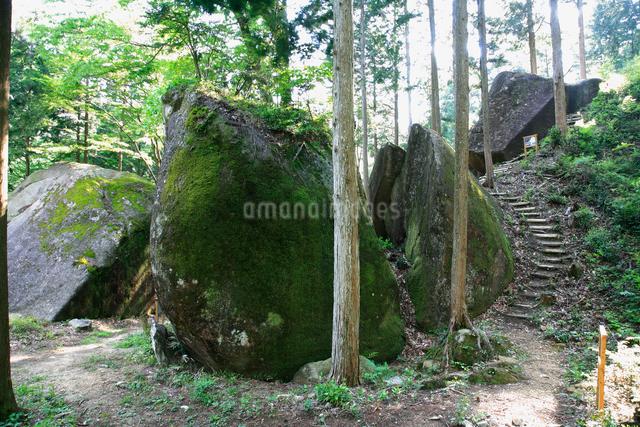 岩屋岩蔭遺跡巨石群の写真素材 [FYI01585739]