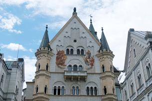 ノイシュヴァンシュタイン城の写真素材 [FYI01586044]