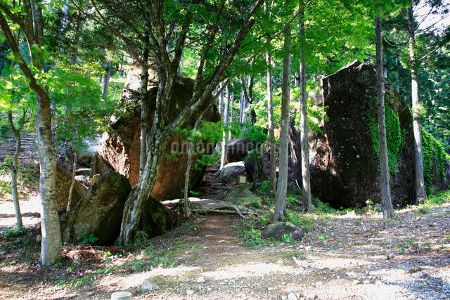 岩屋岩蔭遺跡巨石群の写真素材 [FYI01586142]