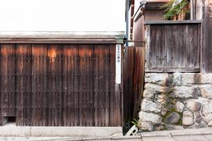 左京区一乗寺の案内板の写真素材 [FYI01586200]