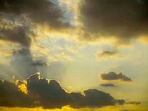 夕空の写真素材 [FYI01586265]