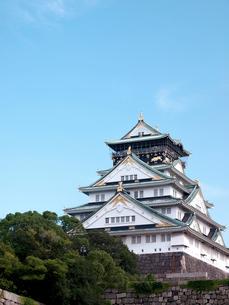 大阪城の写真素材 [FYI01586285]