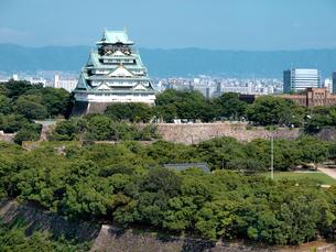 大阪城の写真素材 [FYI01586413]