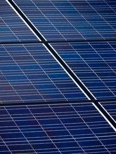 ソーラーパネルの写真素材 [FYI01586445]