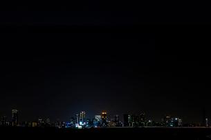 大阪の夜景の写真素材 [FYI01586523]