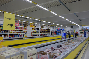 アイスランドのスーパーの写真素材 [FYI01586562]
