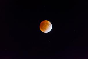 皆既月食の写真素材 [FYI01586660]
