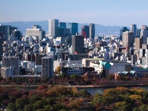 大阪の高層ビルの写真素材 [FYI01586664]