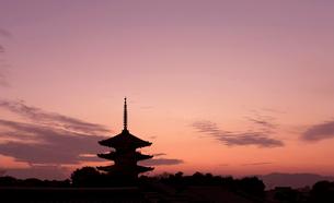 八坂の塔の写真素材 [FYI01586858]