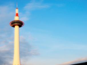 京都タワーの写真素材 [FYI01586874]