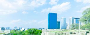 新緑の大阪ビジネスパーク(OBP)の写真素材 [FYI01586918]