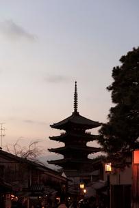 八坂の塔の写真素材 [FYI01587029]