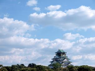 大阪城の写真素材 [FYI01587044]