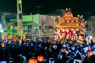 秩父夜祭の笠鉾の写真素材 [FYI01587109]