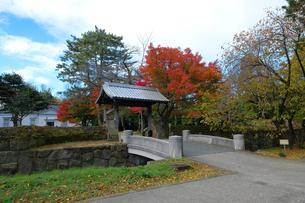金沢城切手門の写真素材 [FYI01587169]