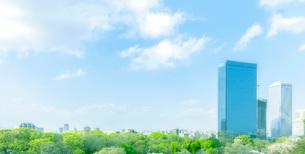 新緑の大阪ビジネスパーク(OBP)の写真素材 [FYI01587234]