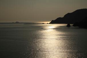 常神半島夕景の写真素材 [FYI01587527]