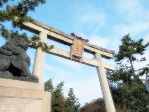 北野天満宮の鳥居の写真素材 [FYI01587897]