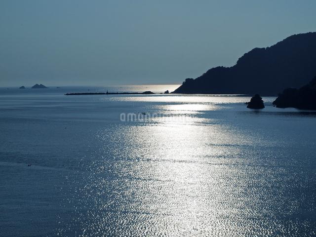 常神半島夕景の写真素材 [FYI01588107]