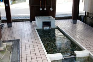 とやまの名水神田の清水の写真素材 [FYI01588118]