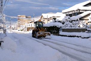 除雪の写真素材 [FYI01588370]